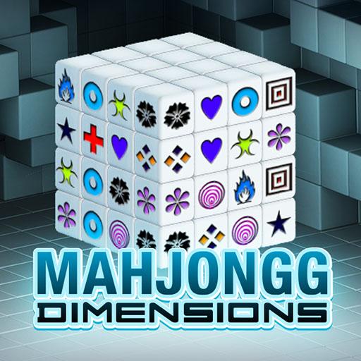 Mahjong Kostka 3D