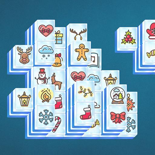 Świąteczny Mahjong